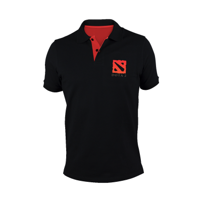 Baju Gaming - Kaos Polo Shirt DOTA 2