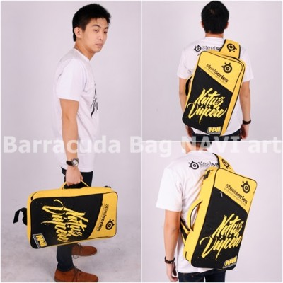 Tas Barracuda V5 5in1 - Navi Art Yellow