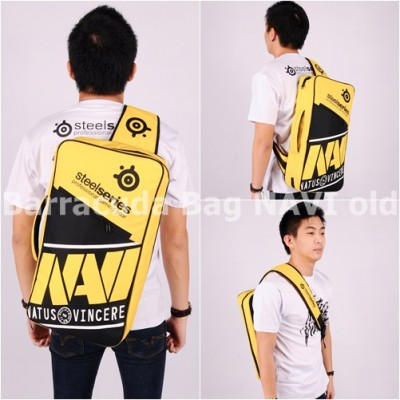 Tas Barracuda V5 5in1 - Navi Yellow Logo