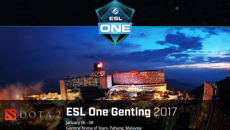 DOTA2 ESL ONE GENTING MALAYSIA 2017