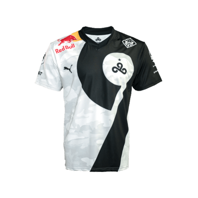 Jersey Cloud9 Camo Black