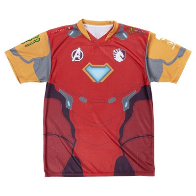 Jersey Liquid Marvel - Iron Man