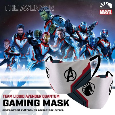 Gaming Masker - Team Liquid AVENGERS