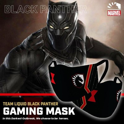 Gaming Masker - Team Liquid BLACK WIDOW