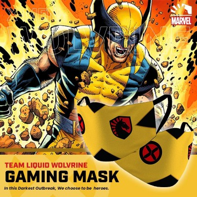 Gaming Masker - Team Liquid X-MEN