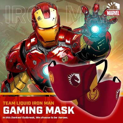 Gaming Masker - Team Liquid IRON MAN