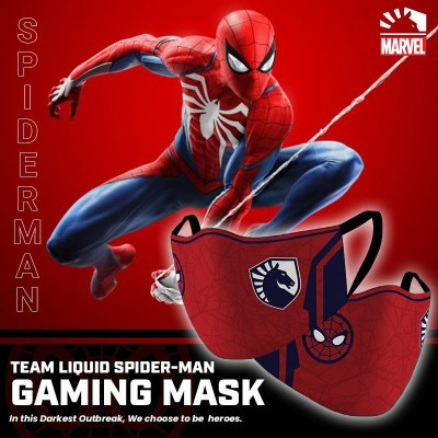 Gaming Masker - Team Liquid SPIDERMAN