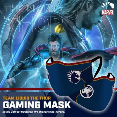 Gaming Masker - Team Liquid THOR