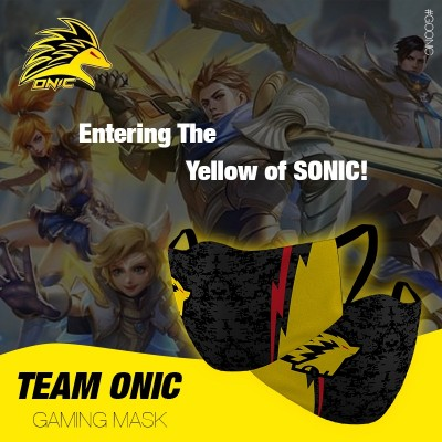 Gaming Masker - ONIC Esports