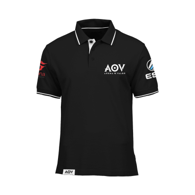 Polo Shirt AOV Black