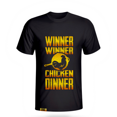 Tshirt PUBG - WINNER CHICKEN